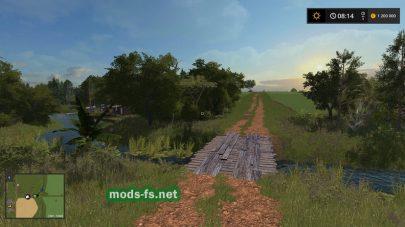 Скриншот карты AgrowestMap