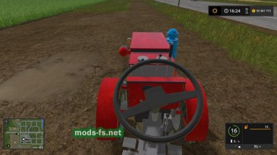 TZ4K Garden Tractor для Farming Simulator 2017