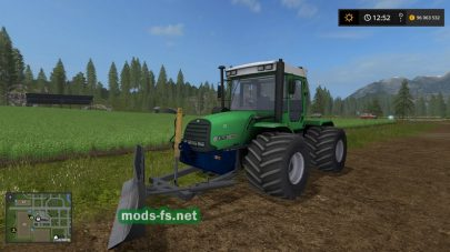 Мод трактора ХТЗ-17022