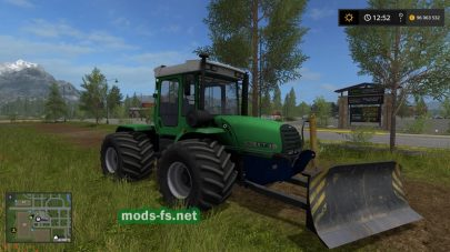 ХТЗ-17022 в игре Farming Simulator 2017