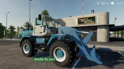 Мод на трактор ХТЗ Т-150К