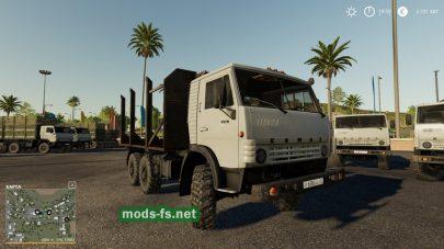 КамАЗ-4310 и прицеп NEFAZ 8560