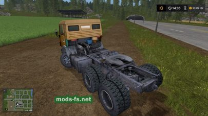 KamAZ-5410 для Farming Simulator 2017