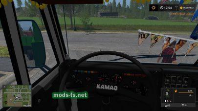 Скриншот мода «kamaz-55102»