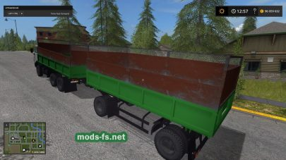 КамАЗ-55102 для Farming Simulator 2017