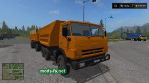 КамАЗ-55111 для игры Farming Simulator 2017