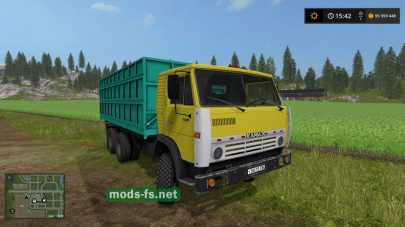 КамАЗ-55102 в игре FS 2019