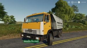 "КамАЗ-55111 ""Совок"" для Farming Simulator 2019"