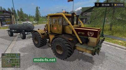 Kirovec K700 для Farming Simulator 2017