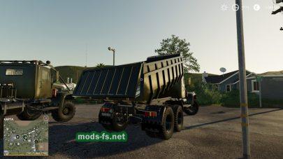 КрАЗ 255Б для Farming Simulator 2019