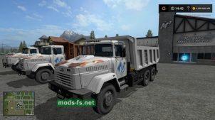 kraz-65055 mod FS 19