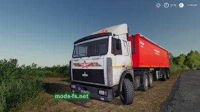 Мод грузовика МАЗ-6422