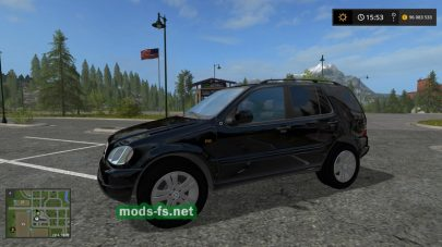 Mercedes Benz ML 430 для FS 2017
