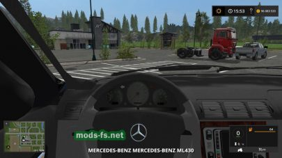 Мод внедорожника MercedesBenzML 430