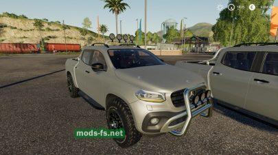 MercedesXClass для FS 2019