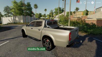 MercedesXClass mod
