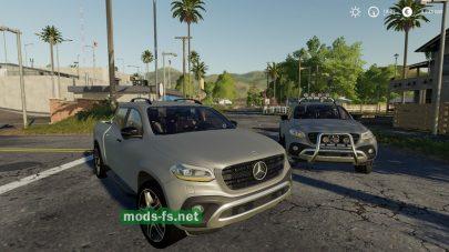 Скриншот мода «MercedesXClass»