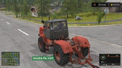 Мод трактора Т-150