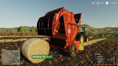 PressRollBalerPRP-1.6 в игре Farming Simulator 2019
