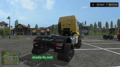 Мод на Man Tracked Semi