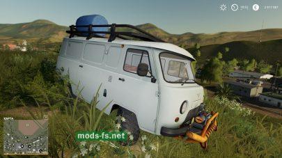 Мод на автомобиль UAZ