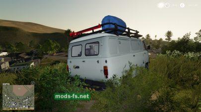 Скриншот мода «UAZ Servicewagen»