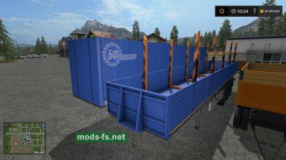 Мод прицепов для грузовика УРАЛ
