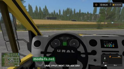 Ural Next 6×4 Tractor для Farming Simulator 2017