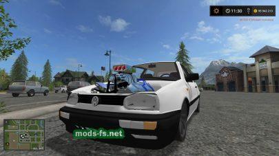 VolkswagenGolf3 v8 для игры Farming Simulator 2017