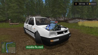 Volkswagen Golf 3 для FS 2017