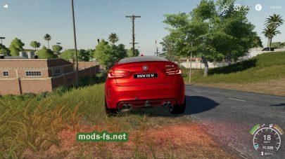 BMW X6M 2016 для Farming Simulator 2019