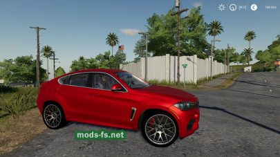 Скриншот мода BMW X6M