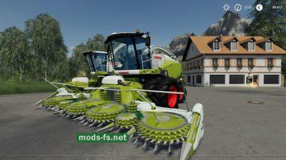 ClaasJaguar800 для Farming Simulator 2019
