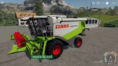 Claas Lexion 530 для Farming Simulator 2019