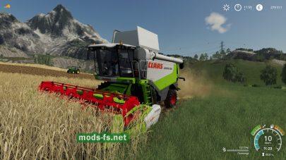 ClaasLexion530 для Farming Simulator 2019