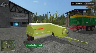 Claas Markant для Farming Simulator 2017
