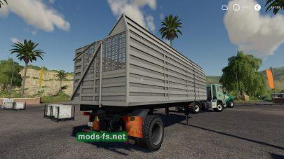 DDRAufliegerShaEigenbauдля Farming Simulator 2019