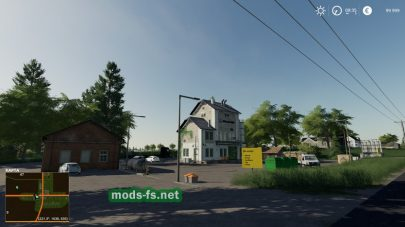 Мод на карту «Clover Creak With Buy-Able Town For Mowing»