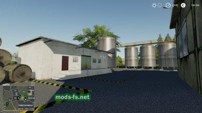 Легкая карта для Farming Simulator 2019