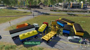 KamazPack для Farming Simulator 2019