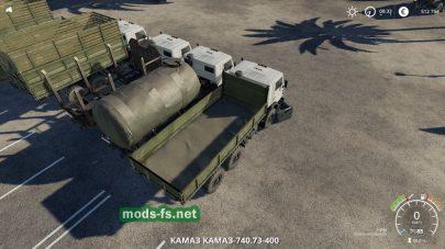 Мод на kamaz-4310