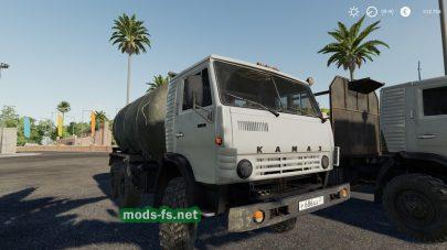 kamaz-4310 для Farming Simulator 2019