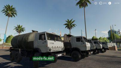 Мод на грузовик КамАЗ-4310