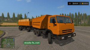 Мод на KамАЗ-55111