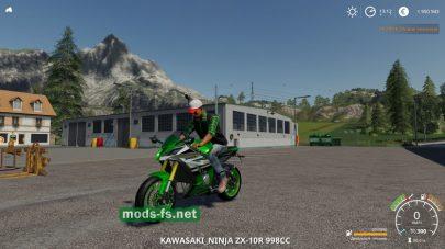 Kawasaki map FS 19