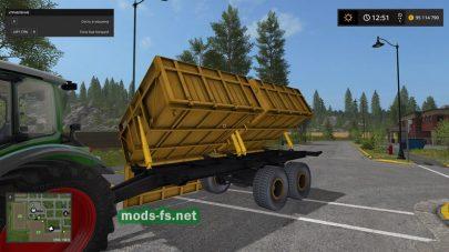 MMZYellow для Farming Simulator 2017