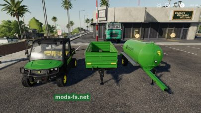 John Deere Gator для Farming Simulator 2019