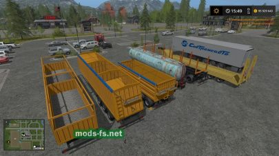 Trailers pack FS 17