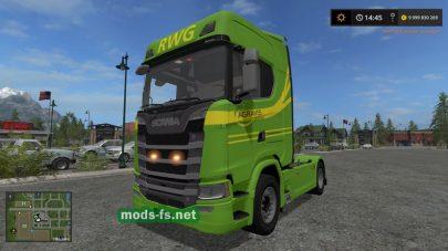 ScaniaS Raiffeisen mod FS 17