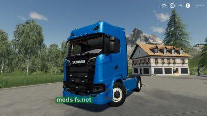 ScaniaS730 4X2 mod FS 19